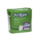 New FitRight Ultra Heavy Absorbency Adult Diaper (Case of 80, Med-XXL)