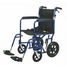 Deluxe Aluminum Transport Wheelchair
